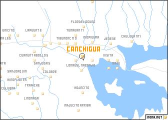map of Canchigua