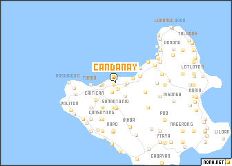 map of Candanay