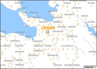 map of Candan