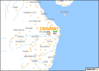 map of Candaoay