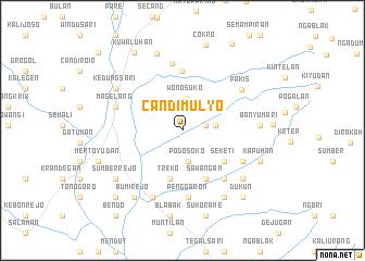 map of Candimulyo