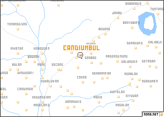 map of Candiumbul