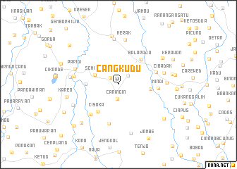 map of Cangkudu