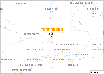 map of Cangonamá