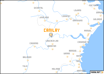 map of Can-ilay