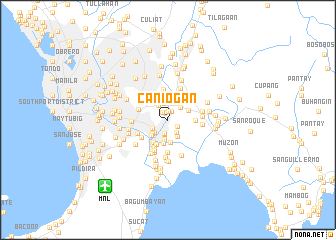map of Caniogan