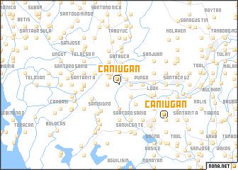 map of Caniugan