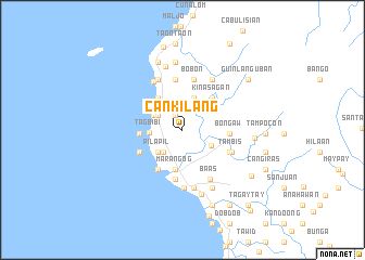 map of Cankilang