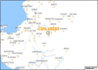 map of Canluagon