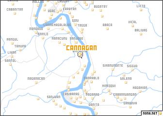 map of Cannagan