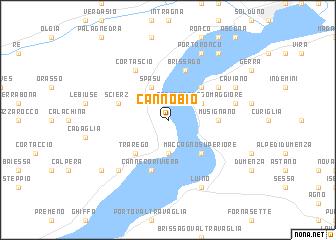 map of Cannobio