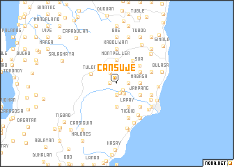 map of Cansuje