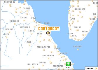 map of Cantamoay