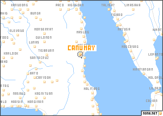 map of Canumay