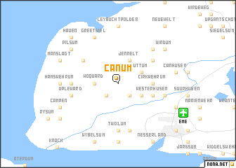 map of Canum