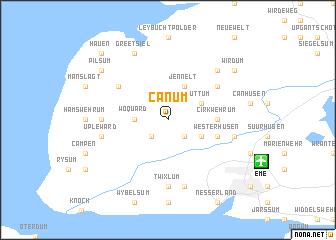map of Canum