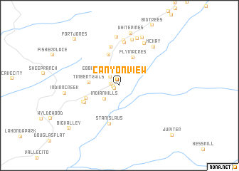 map of Canyon View