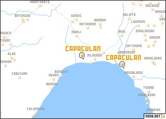 map of Capaculan