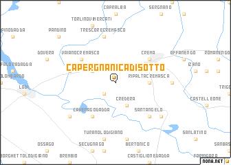 map of Capergnanica di Sotto