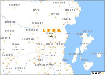 map of Capinang