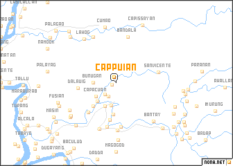 map of Cappuian