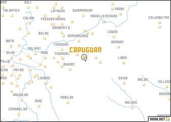 map of Capugdan