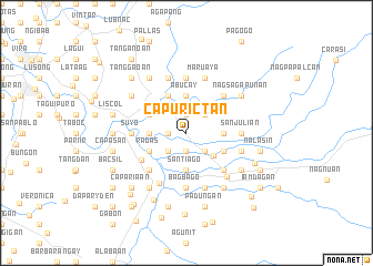 map of Capurictan