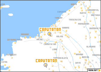 map of Caputatan