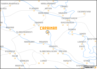 map of Caraiman