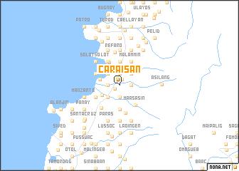 map of Caraisan