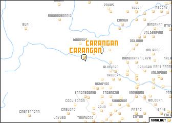 map of Carangan