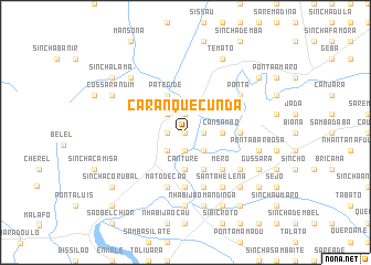 map of Caranquecunda
