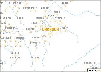 map of Caraoca
