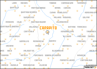 map of Carapito