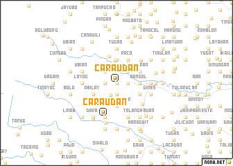 map of Caraudan
