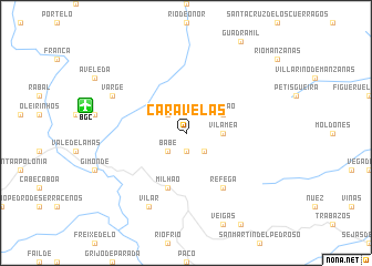 map of Caravelas