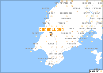 map of Carballosa
