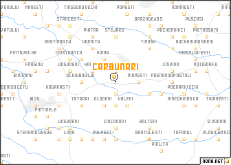 map of Cărbunari