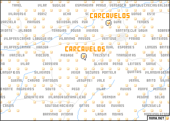 map of Carcavelos