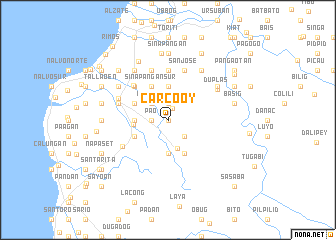 map of Carcooy