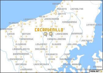 map of Cardenillo