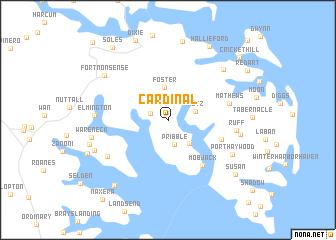 map of Cardinal