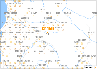 map of Cardis