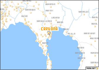 map of Cardona