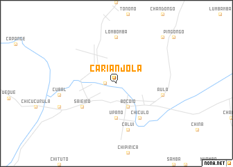 map of Carianjola