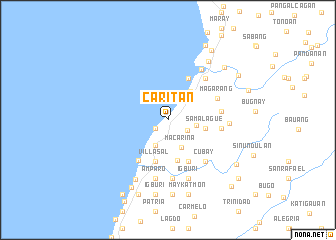 map of Carit-an