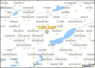 map of Carlshof