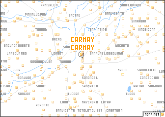 map of Carmay