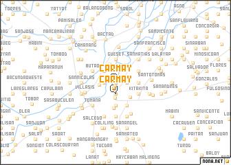map of Carmay