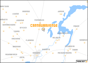 map of Carnaúba Verde